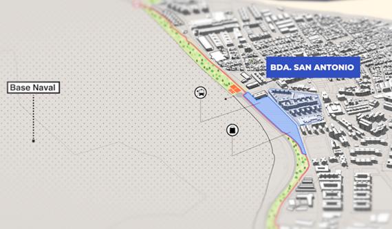 Proyecto para la Barriada San Antonio