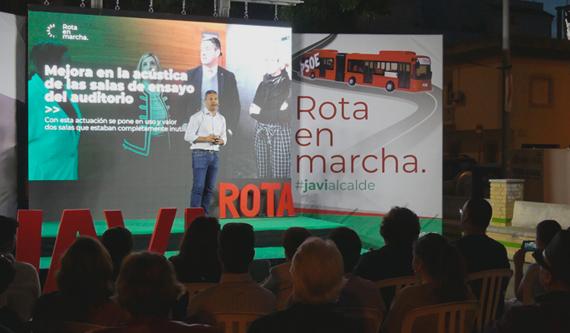 Acto Público en la Barriada San Antonio