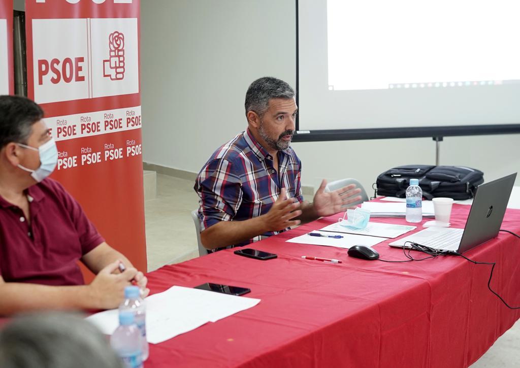 El PSOE de Rota afronta con energía el nuevo curso político